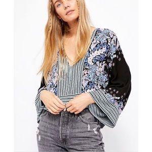 free people mix n match blouse